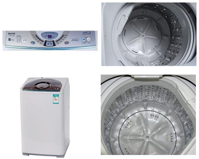 三洋6千克波轮洗衣机xqb60-m808