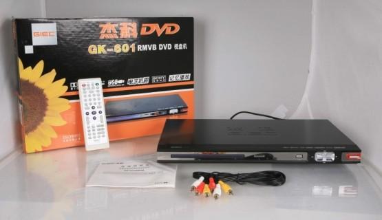 杰科(giec)gk-601 dvd播放器