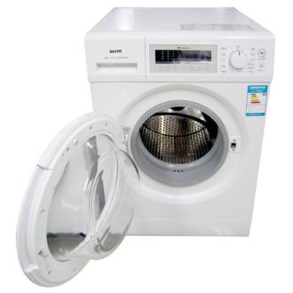 三洋(sanyo) 滚筒洗衣机xqg75-f1128bw(白色)