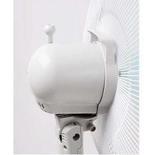 艾美特 js40at2电风扇 落地扇 全铝壳静音电机 16寸3片大扇叶